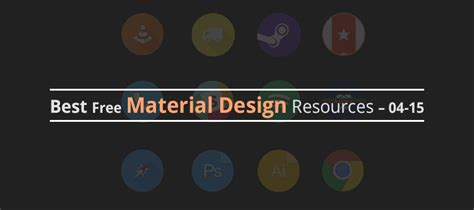 Free Design Resources 2015 | best free material design resources 04 15 creativecrunk
