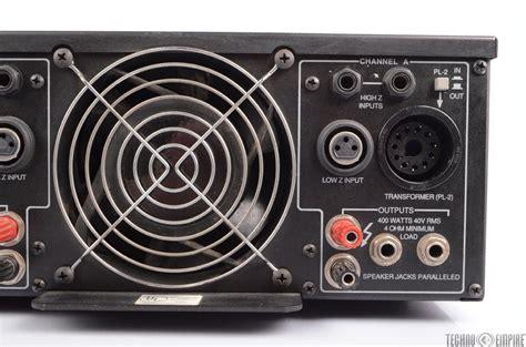 Power Lifier Peavey Cs peavey cs 800 stereo power lifier 400w 4 ohms 24037 ebay
