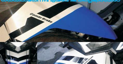 Original Premium Decal Striping Honda Vario Esp 150 Motif Doraemon stickrenz honda vario 150 esp white custom stripe wrapp fender