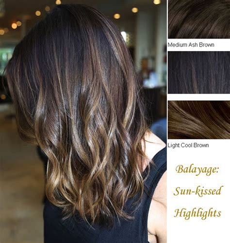 layered medium long length ash brownblonde balayage ombre escaille balayage highlights and balayage ombre for spring 2014