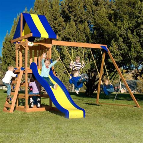 adventure swing set walmart walmart adventure playsets trail blazer swing