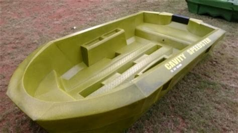 small plastic bass boats cavity speedster small plastic bass fishing boat