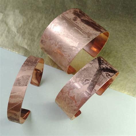 Handmade Copper Cuffs - handmade gold plated copper cuff by magnus