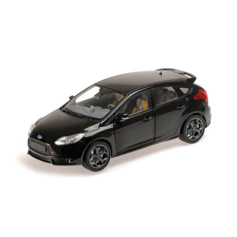 Ford 2011 Car Model In Scale 1 18 Purple 1 minichs ford focus st 2011 black metallic 1 18 scale minichs from jumblies models uk