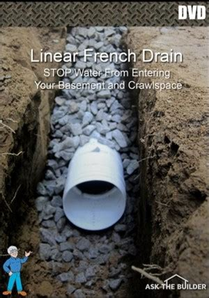 basement drainage solutions soil drainage solution drain systems ask the builder