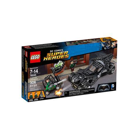 Lego Kryptonite Interception 76045 lego 76045 dc comics heroes kryptonite interception at hobby warehouse