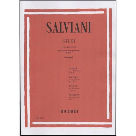 0041823680 studi per oboe vol salviani studi per sassofono ww birdlandjazz it