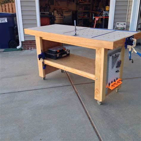 t track reloading bench t track reloading bench hybrid workbench assembly table by