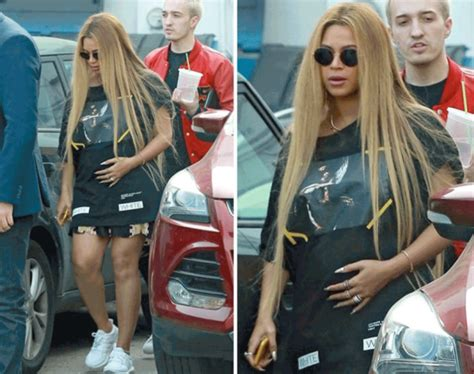 Spotted Shopping Beyonce Alba And More by Beyonce And Baby Bump Spotted Out Shopping