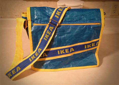 ikea bag hack ikea messenger bag get home decorating