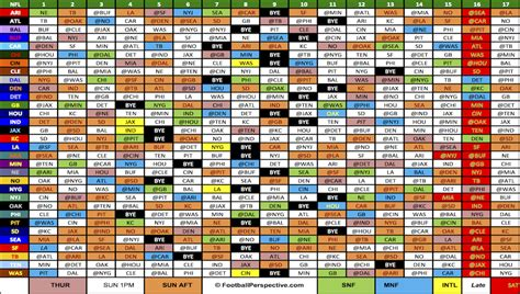 printable entire nfl schedule 2016 2017 nfl schedule gallery