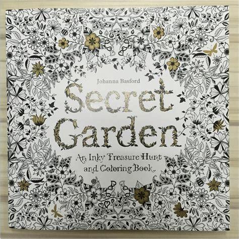 secret garden coloring book national bookstore price secret garden 96 pages edition coloring book for