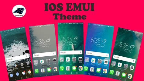 huawei new themes download latest top 5 ios emui 2017 huawei theme youtube