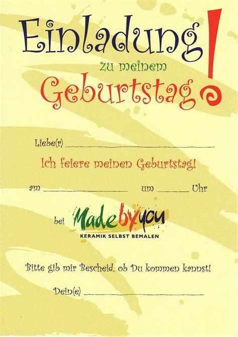 einladungskarten selber drucken kindergeburtstag einladungen zum ausdrucken kostenlos