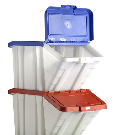 tall plastic storage bins with lids beautiful kitchen with 2 red blue plastic picking and