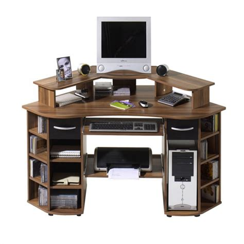 Walnut Corner Computer Desk You Must Javascript Enabled In Your Browser To Utilize The Functionality Of This Website