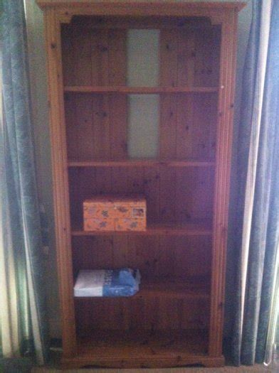 sturdy pine bookcase shelves for sale for sale in dundalk