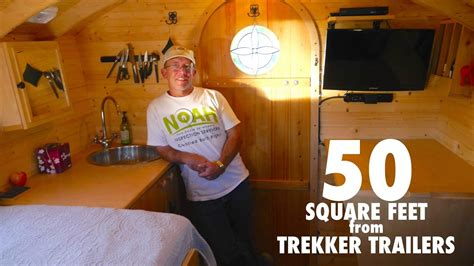 50 sq feet park ranger s tiny house is only 50 square feet youtube