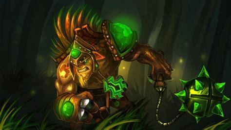 dota 2 wallpaper hd green dota 2 heroes bristleback weapon mace and chaingreen