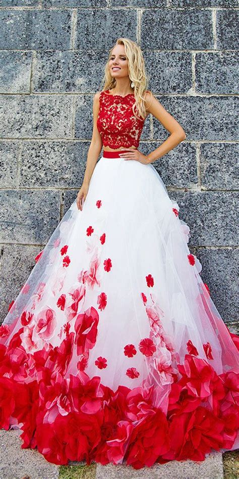 colorful wedding 24 amazing colourful wedding dresses for non traditional