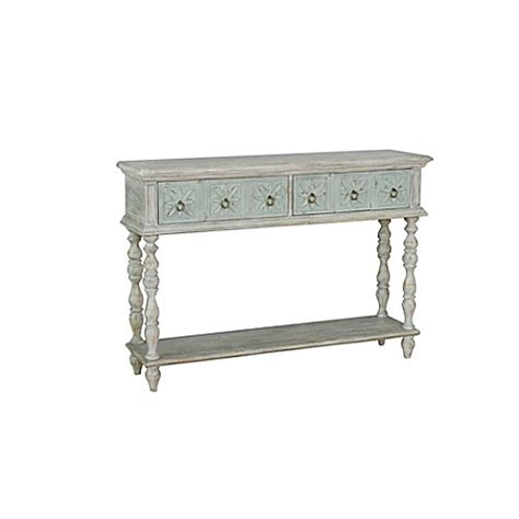 Pulaski Console Table Pulaski Wilfred Console Table In White Bed Bath Beyond