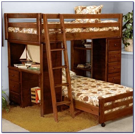 bunk beds with drawers wooden bunk beds with drawers and desk desk home