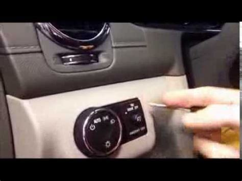 """how to activate the """"dome light"""" feature in your buick or"""