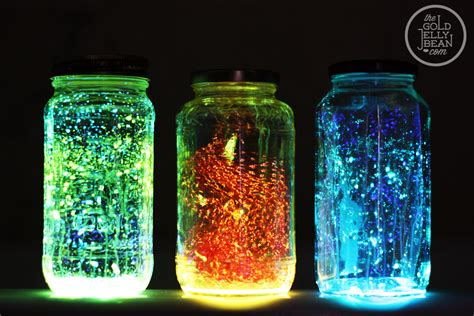 jual glow in the paint diy glow jars top diy ideas