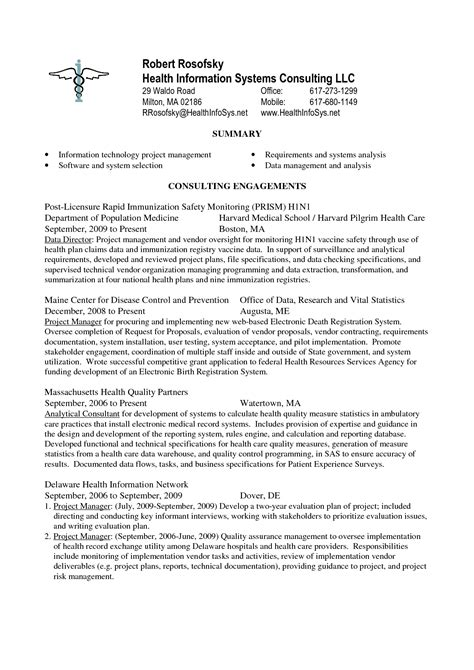 Technical Program Manager Resume Sle by Technical Project Manager Cover Letter Gallery Cover