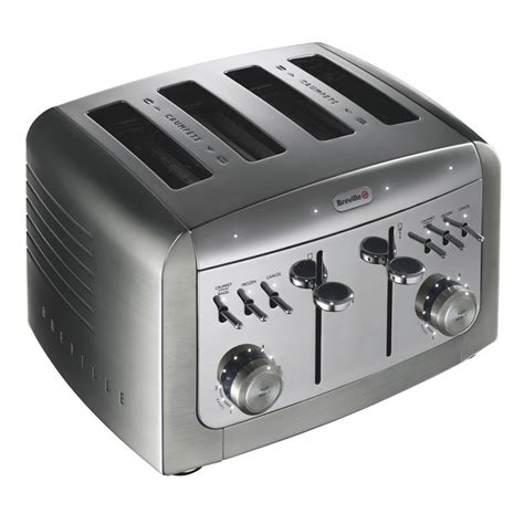 Four Toast Toaster Breville Vtt311 Elements Four Slice Toaster Review