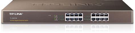 Switch Tplink 16 Port tp link tl sg1016 16 port rackmount gigabit ethernet switch global pc