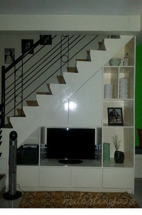 tv cabinet   staircase home improvement  stairs stair storage cabinet