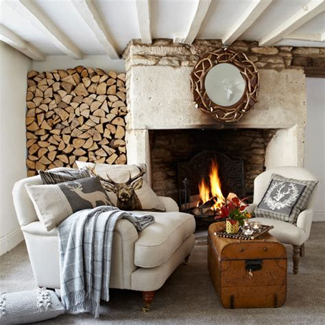 comfy living room housetohome co uk rustic country living room ideal home