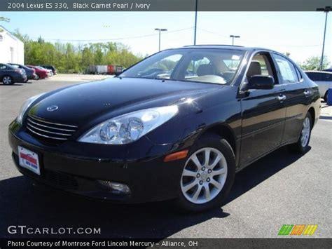 2004 lexus es330 interior black garnet pearl 2004 lexus es 330 ivory interior