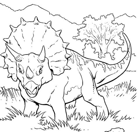 dinosaur jungle coloring page 42 disegni di dinosauri da colorare pianetabambini it