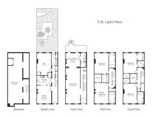 Townhouses Floor Plans Townhouse Plan Viewing Gallery