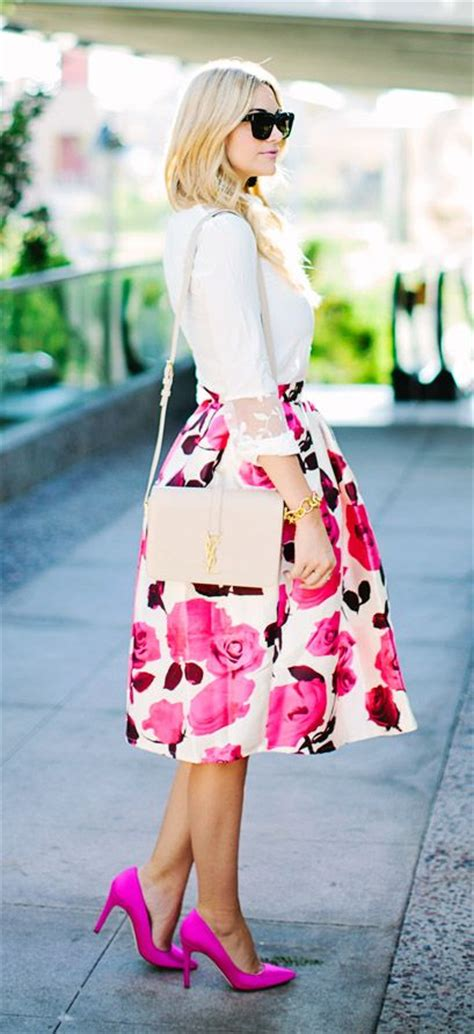 white floral skirt outfits www pixshark com images