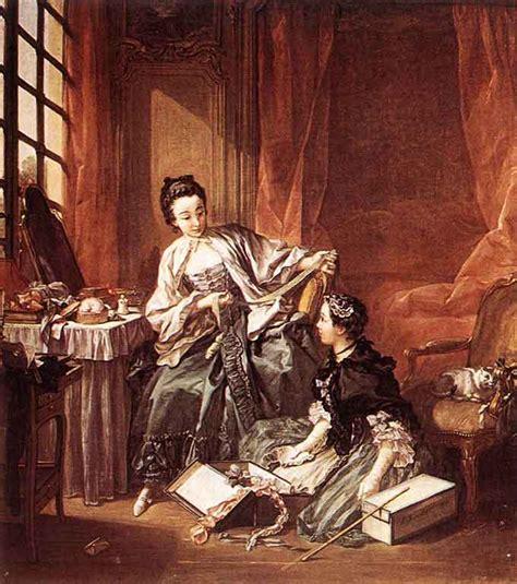 reclining girl boucher 1746 the morning