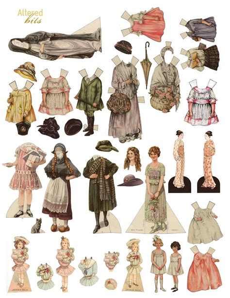 Paper Doll - 1000 images about dolls and paper dolls on