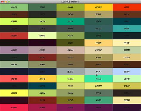 kuler color picker flickr photo