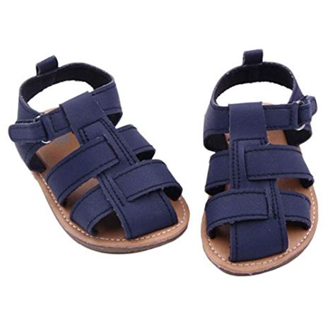 Baby Shoes Prewalker Will Navy dzt1968 174 baby boy pu leather anti slip sandals shoes