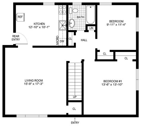 simple floor plans for houses zspmed of simple floor plan