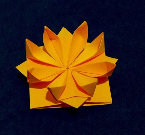 1000 ideas about easy origami flower on