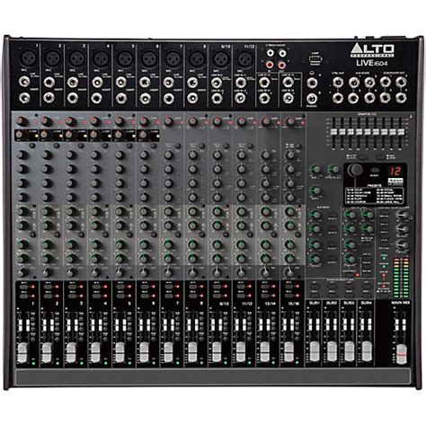 Mixer Alto L 16 alto live 1604 16 channel 4 mixer musician s friend