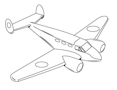 Printable Airplane Coloring Pages free printable airplane coloring pages for