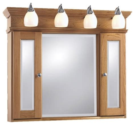 Medicine Cabinets With Lights by Strasser Woodenworks Mirrored Medicine Cabinet With