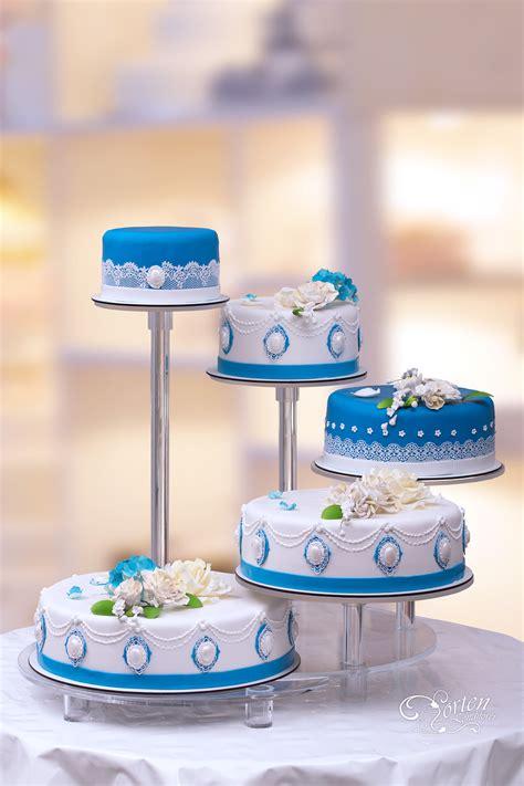 Hochzeitstorte Blau by Hochzeitstorten Glasst 228 Nder Hochzeitstorten Schlidt De