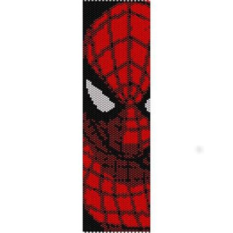spiderman loom pattern spiderman loom beading pattern for cuff bracelet sale