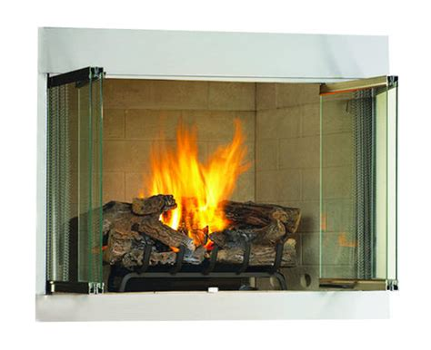 Menards Gas Fireplace by Ihp 42 Quot Vent Free Outdoor Fireplace Lp Insert Only At