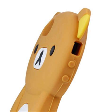 Soft Silikon Bergambar Karakter Iphone 5 5s teddybeer siliconen iphone 5s 5 mobile belgi 235